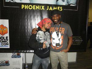 phoenix-james-with-spirah-gear-diana-ugarte-at-la-mole-comic-con-20th-anniversary-in-mexico