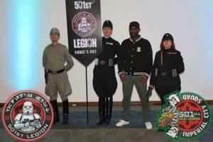 Phoenix James with the 501st Legion Mexican Garrison at La Mole Comic Con in Mexico City 10