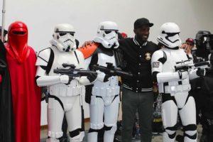 Phoenix James with the 501st Legion Mexican Garrison at La Mole Comic Con in Mexico City 7