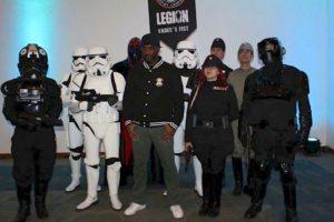 Phoenix James with the 501st Legion Mexican Garrison at La Mole Comic Con in Mexico City 9