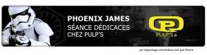 Star Wars - Actor - Phoenix James - Stormtrooper - Pulp's Toys - Mint In Box Net - France 0 Episode 7 8 9 VII VIII IX