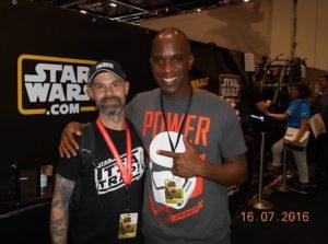 Star Wars Celebration Europe - First Order Stormtrooper Actor Phoenix James 1