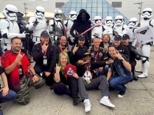 Star Wars Celebration Europe - First Order Stormtrooper Actor Phoenix James 10
