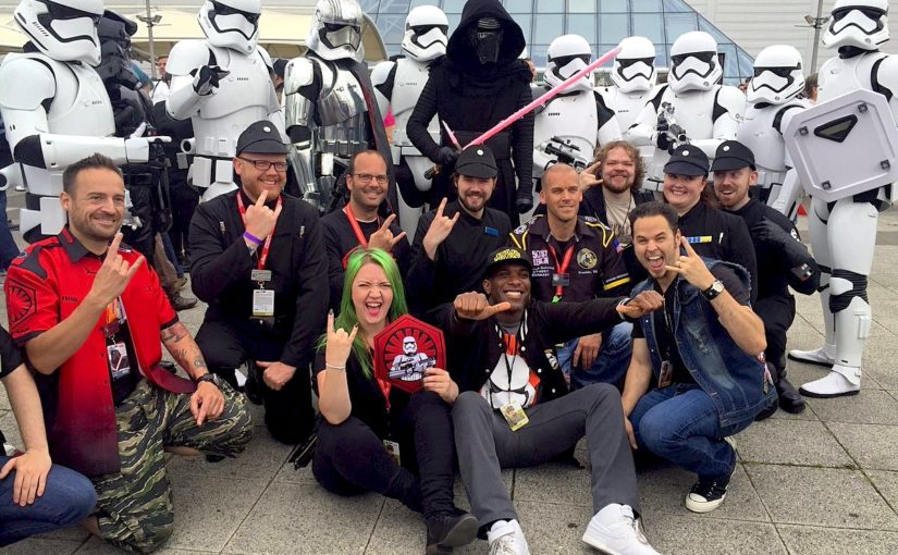 Phoenix James at Star Wars Celebration Europe at ExCel London