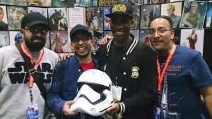 Star Wars Celebration Europe - First Order Stormtrooper Actor Phoenix James 12