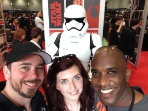 Star Wars Celebration Europe - First Order Stormtrooper Actor Phoenix James 18