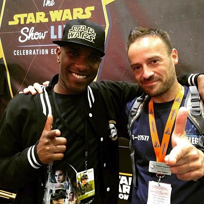Star Wars Celebration Europe - First Order Stormtrooper Actor Phoenix James 22