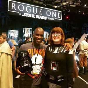 Star Wars Celebration Europe - First Order Stormtrooper Actor Phoenix James 26