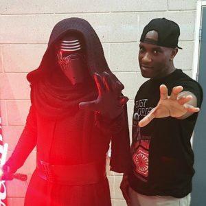 Star Wars Celebration Europe - First Order Stormtrooper Actor Phoenix James 27