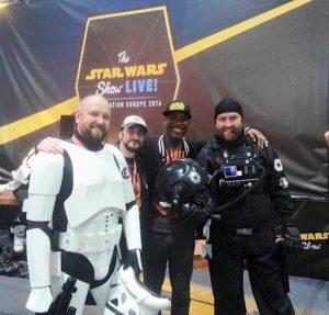 Star Wars Celebration Europe - First Order Stormtrooper Actor Phoenix James 3
