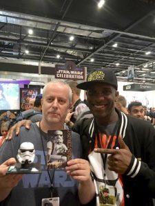 Star Wars Celebration Europe - First Order Stormtrooper Actor Phoenix James 7