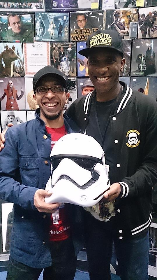 Star Wars Celebration Europe - First Order Stormtrooper Actor Phoenix James