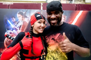 Stormtrooper Actor Phoenix James at ASFA Star Wars Convention in Amélie les Bains in South of France - Photo by Paul Fauchille 0