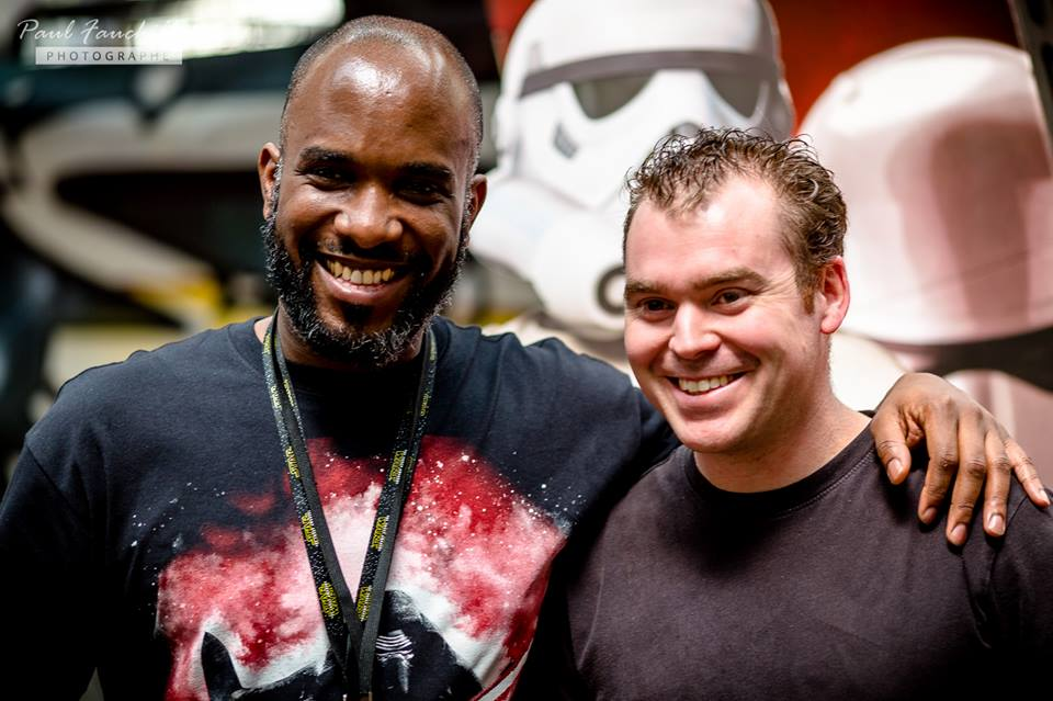 Stormtrooper Actor Phoenix James at ASFA Star Wars Convention in Amélie les Bains in South of France - Photo by Paul Fauchille