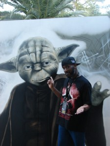 Stormtrooper Actor Phoenix James at ASFA Star Wars Convention in Amélie les Bains in South of France - Photo by Virginie Maurille 15