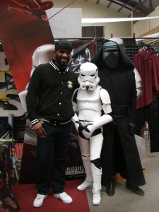 Stormtrooper Actor Phoenix James at ASFA Star Wars Convention in Amélie les Bains in South of France - Photo by Virginie Maurille 18