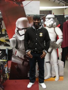 Stormtrooper Actor Phoenix James at ASFA Star Wars Convention in Amélie les Bains in South of France - Photo by Virginie Maurille 19