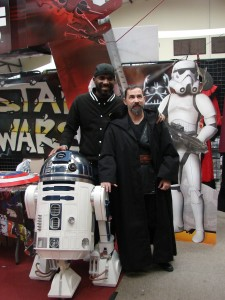 Stormtrooper Actor Phoenix James at ASFA Star Wars Convention in Amélie les Bains in South of France - Photo by Virginie Maurille 20
