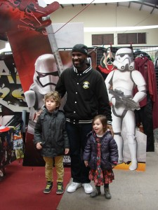 Stormtrooper Actor Phoenix James at ASFA Star Wars Convention in Amélie les Bains in South of France - Photo by Virginie Maurille 22