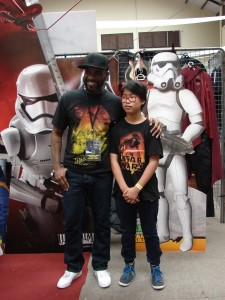 Stormtrooper Actor Phoenix James at ASFA Star Wars Convention in Amélie les Bains in South of France - Photo by Virginie Maurille 23