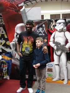 Stormtrooper Actor Phoenix James at ASFA Star Wars Convention in Amélie les Bains in South of France - Photo by Virginie Maurille 25