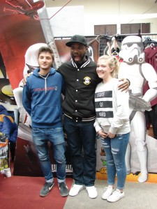 Stormtrooper Actor Phoenix James at ASFA Star Wars Convention in Amélie les Bains in South of France - Photo by Virginie Maurille 26