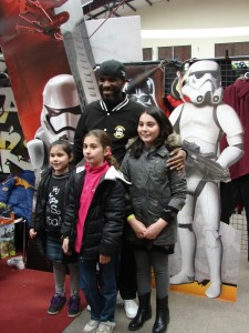 Stormtrooper Actor Phoenix James at ASFA Star Wars Convention in Amélie les Bains in South of France - Photo by Virginie Maurille 27