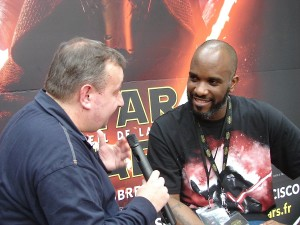 Stormtrooper Actor Phoenix James at ASFA Star Wars Convention in Amélie les Bains in South of France - Photo by Virginie Maurille 3