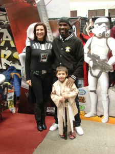 Stormtrooper Actor Phoenix James at ASFA Star Wars Convention in Amélie les Bains in South of France - Photo by Virginie Maurille 30