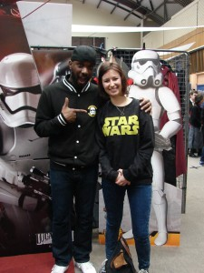Stormtrooper Actor Phoenix James at ASFA Star Wars Convention in Amélie les Bains in South of France - Photo by Virginie Maurille 32