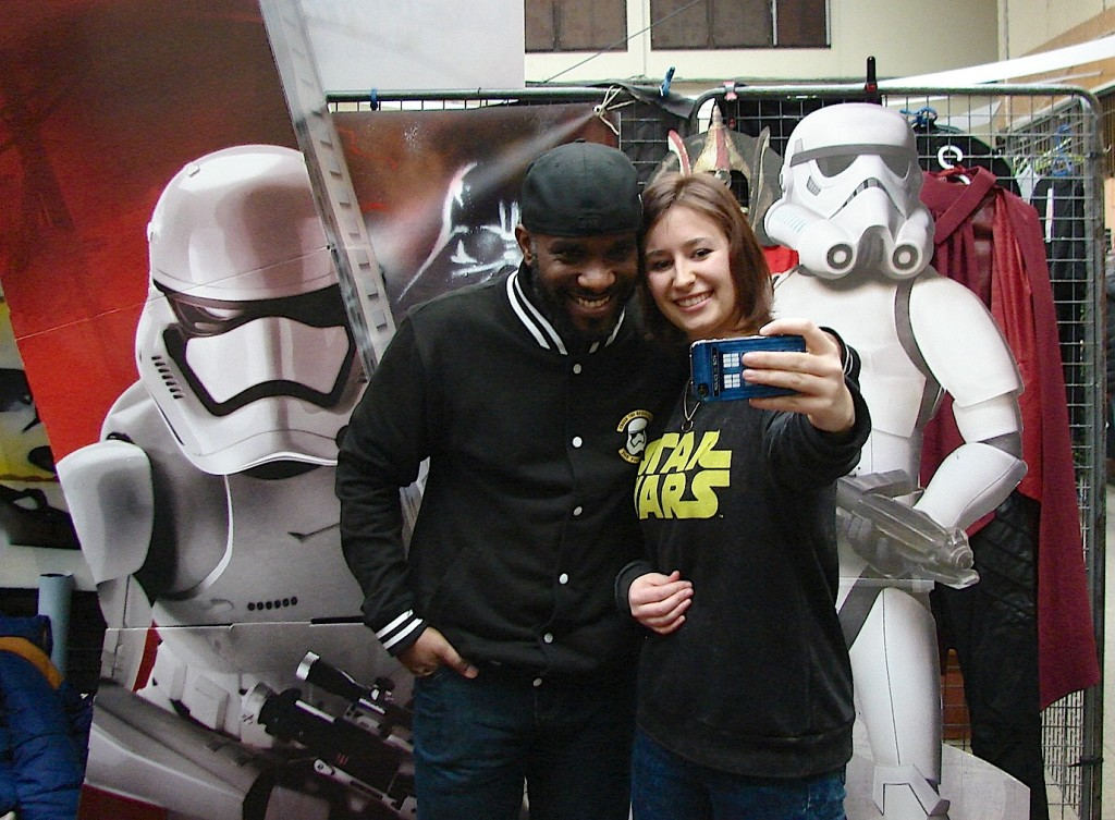 Stormtrooper Actor Phoenix James at ASFA Star Wars Convention in Amélie les Bains in South of France - Photo by Virginie Maurille 33