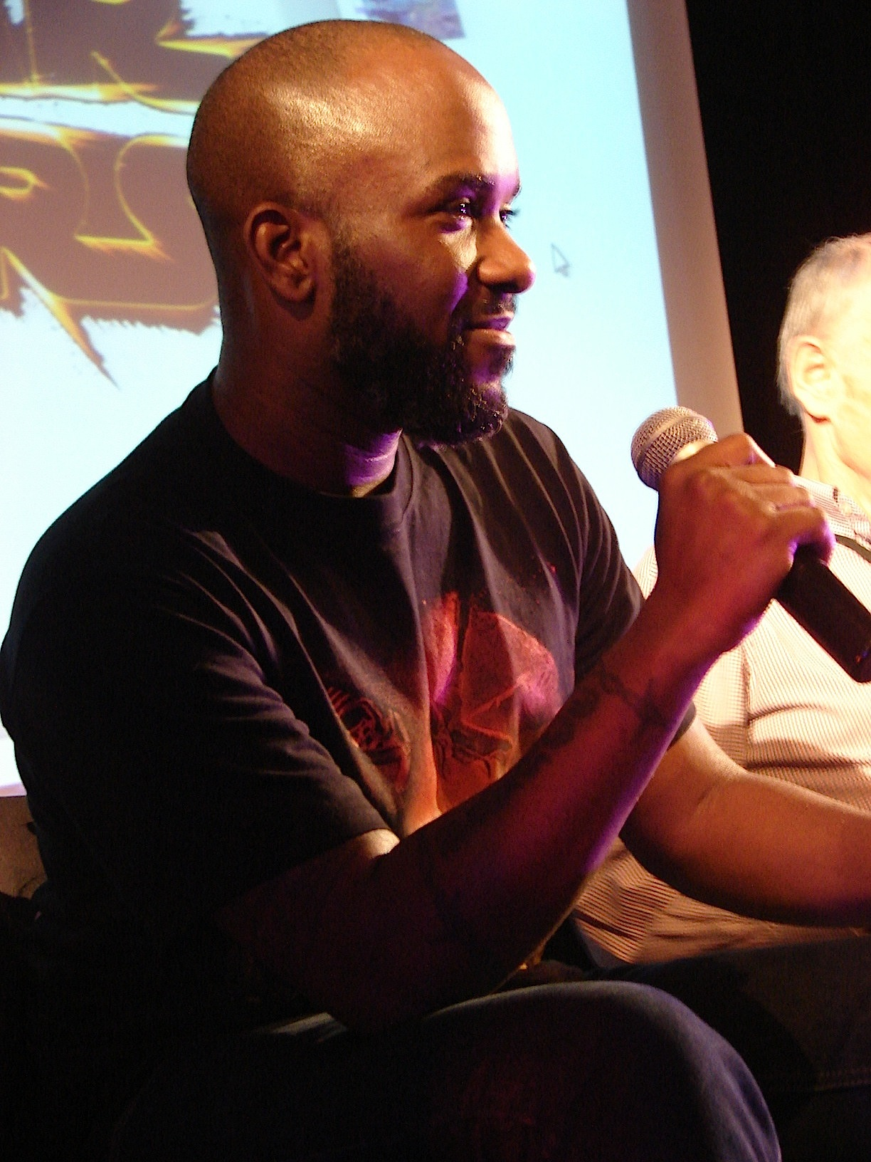 Stormtrooper Actor Phoenix James at ASFA Star Wars Convention in Amélie les Bains in South of France - Photo by Virginie Maurille 37