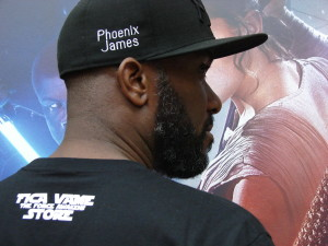 Stormtrooper Actor Phoenix James at ASFA Star Wars Convention in Amélie les Bains in South of France - Photo by Virginie Maurille 44
