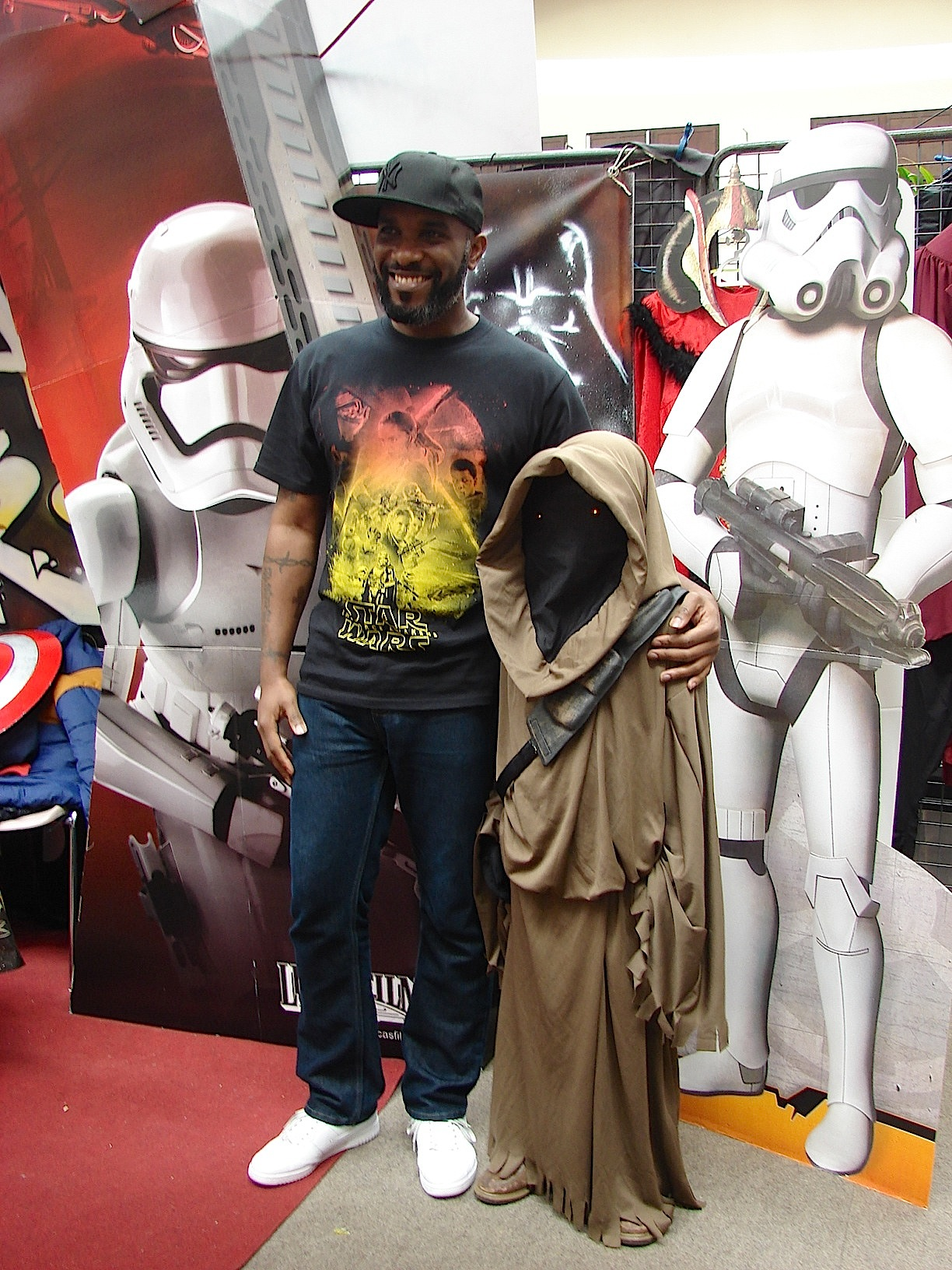 Stormtrooper Actor Phoenix James at ASFA Star Wars Convention in Amélie les Bains in South of France - Photo by Virginie Maurille 47