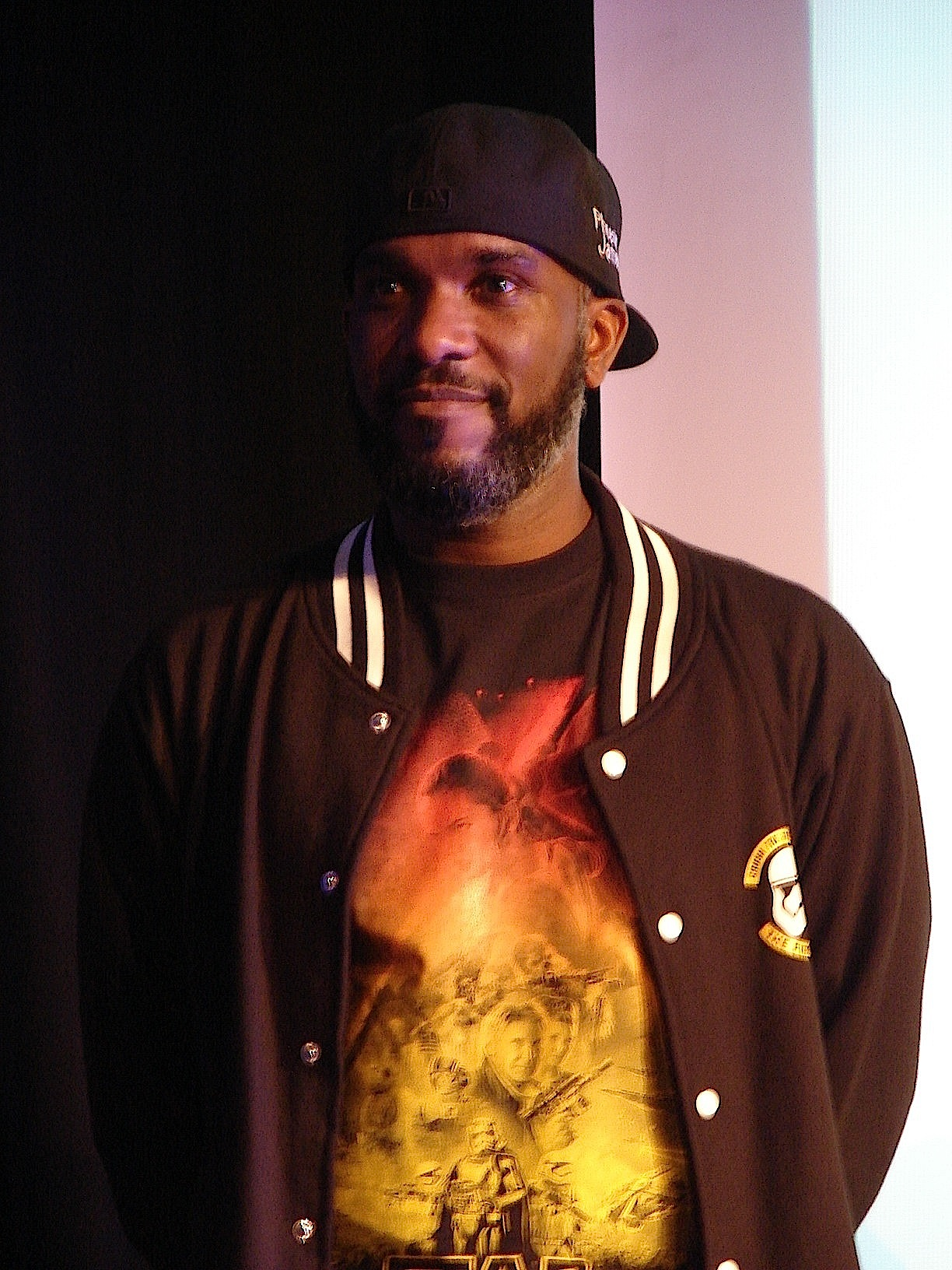 Stormtrooper Actor Phoenix James at ASFA Star Wars Convention in Amélie les Bains in South of France - Photo by Virginie Maurille 49