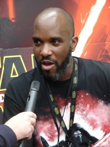 Stormtrooper Actor Phoenix James at ASFA Star Wars Convention in Amélie les Bains in South of France - Photo by Virginie Maurille 5