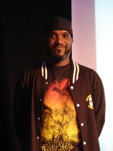 Stormtrooper Actor Phoenix James at ASFA Star Wars Episode 7 8 9 VII VIII IX Convention in Amélie les Bains in South of France - Photo by Virginie Maurille 50