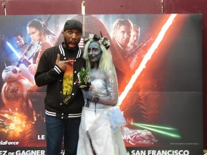 Stormtrooper Actor Phoenix James at ASFA Star Wars Convention in Amélie les Bains in South of France - Photo by Virginie Maurille 51
