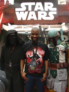 Stormtrooper Actor Phoenix James at ASFA Star Wars Convention in Amélie les Bains in South of France - Photo by Virginie Maurille 7