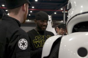 Stormtrooper Actor Phoenix James at Star Wars autograph signing event at Jaarbeurs in Utrecht - The Netherlands - Photo by Rosalie Avalon 11
