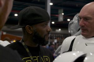 Stormtrooper Actor Phoenix James at Star Wars autograph signing event at Jaarbeurs in Utrecht - The Netherlands - Photo by Rosalie Avalon 14