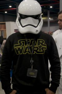 Stormtrooper Actor Phoenix James at Star Wars autograph signing event at Jaarbeurs in Utrecht - The Netherlands - Photo by Rosalie Avalon 23