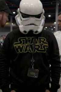 Stormtrooper Actor Phoenix James at Star Wars autograph signing event at Jaarbeurs in Utrecht - The Netherlands - Photo by Rosalie Avalon 26