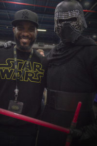 Stormtrooper Actor Phoenix James at Star Wars autograph signing event at Jaarbeurs in Utrecht - The Netherlands - Photo by Rosalie Avalon 29