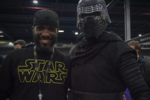 Stormtrooper Actor Phoenix James at Star Wars autograph signing event at Jaarbeurs in Utrecht - The Netherlands - Photo by Rosalie Avalon 30