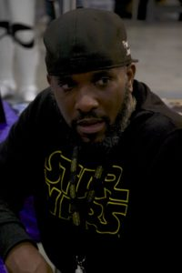 Stormtrooper Actor Phoenix James at Star Wars autograph signing event at Jaarbeurs in Utrecht - The Netherlands - Photo by Rosalie Avalon 31