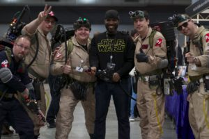 Stormtrooper Actor Phoenix James at Star Wars autograph signing event at Jaarbeurs in Utrecht - The Netherlands - Photo by Rosalie Avalon 5