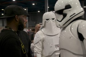 Stormtrooper Actor Phoenix James at Star Wars autograph signing event at Jaarbeurs in Utrecht - The Netherlands - Photo by Rosalie Avalon 7