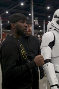 Stormtrooper Actor Phoenix James at Star Wars autograph signing event at Jaarbeurs in Utrecht - The Netherlands - Photo by Rosalie Avalon 8
